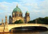 Berlínská katedrála — Stock fotografie