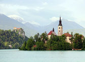 Bled lake, Slovenia — Stock Photo