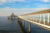 Pier in Heringsdorf, Germany — Stock Photo