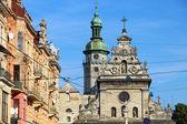 Греческая католическая церковь Св. andrew (bernardine церковь), Львов, u — Стоковое фото