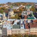 Lviv old town, Ukraine — Stock Photo #58017149