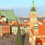 Castle square, Warsaw, Poland — Stock Photo #59394355