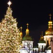 Winter holidays on Sophia square in Kyiv — Stock Photo #61433125