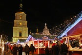 Christmas market in Kyiv — Stock Photo