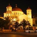 Metropolitan church of St. Gregory Palamas in Thessaloniki — Stock Photo #63706687