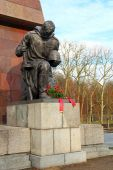 Soviet War Memorial in Treptower park, Berlin — Stock Photo