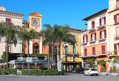 Tasso square, Sorrento — Stock Photo