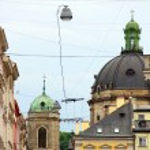 Lviv old town, Ukraine — Stock Photo #77573906