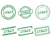 Italy stamps — Stock Vector
