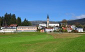 Schwarzenberg am Boehmerwald, Austria — Stock Photo