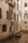 Venice Romantic canal — Stock Photo