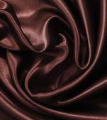 Brown chocolate silk — Stock Photo