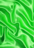 Elegant green silk — Stock Photo