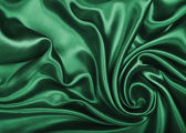 Elegant green silk — Stock Photo