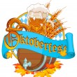 Decorative Oktoberfest design — Stock Vector #53649793