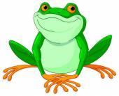 Very cute Frog — Vector de stock