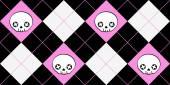Background skulls — Stock Vector