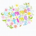 Beautiful summer design — Stock Vector #72819647