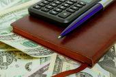 会計および資金の制御. — ストック写真