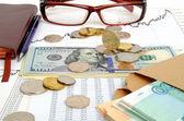Exchange rates. — Stock Photo