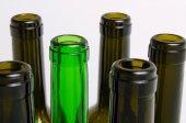 Glasflaschen. — Stockfoto