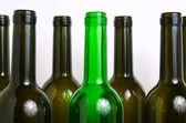 Glass bottles for industrial utilization. — Zdjęcie stockowe
