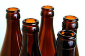 Glass bottles for industrial utilization. — Foto de Stock