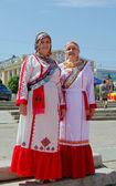 Cheboksary, Russia - June 24, 2015: The Day of the Republic of C — Stock Photo