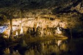 Beautiful caves in Moravian Karst — Stock Photo