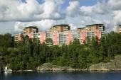 Landscape on Stockholm archipelago — Stock Photo