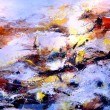 Fragment of abstract colour oil painting — Stock Photo #73761507