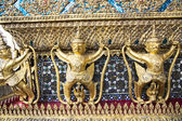 Decorative patterns in Wat Phra Kaew, Emerald Buddha Temple — Stock Photo