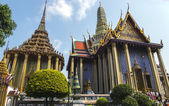Wat Phra Kaew, Emerald Buddha Temple — Stock Photo