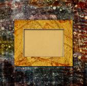 Abstract ancient background in scrapbooking style with chaotic o — Stock Photo