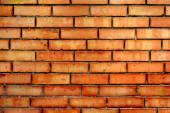 Vintage texture Red brick wall for design — Stock fotografie
