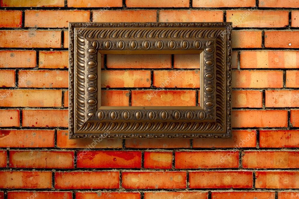 Marcos de madera vintage para los cuadros en la pared de - Cuadros vintage madera ...