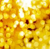Abstract gold background with blur bokeh for design  — Stock Photo