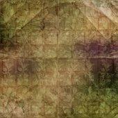 Grunge antiguo papel usado en estilo scrapbooking — Foto de Stock