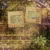 Abstrakt vacker bakgrund i stil med blandteknik med f — Stockfoto