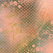Abstract beautiful background in the style of mixed media with f — Stock Photo