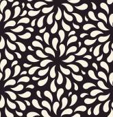 Vector seamless pattern. Flower vintage backgrounds drops foliag — Stock Vector