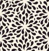 Vector seamless pattern. Floral vintage backgrounds drops foliag — Stock Vector