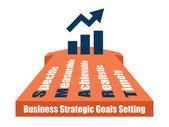 SMART setting — Stock Vector