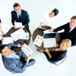 Successful business team at the office. top view — Stock Photo #59485785