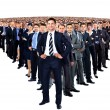 grande grupo de businesspeople — Foto Stock #59486043