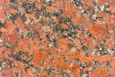 Mottled Black and Red Granite Texture  — Stock Photo