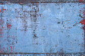 Old Blue Metal Texture — Stock Photo