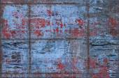 Grungy Metal Background with Seams — Stock Photo