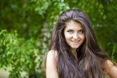 Young beautiful woman — Stock Photo