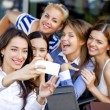Selfie Five happy women — Stock Photo #54885523
